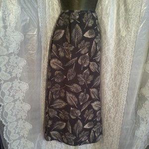 Chaus Printed Skirt Size 12 NWT